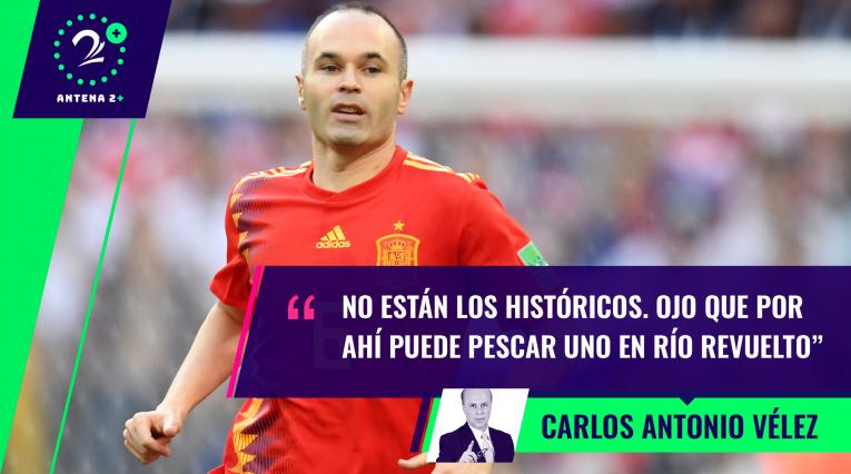 Carlos Antonio Vélez habló de la eliminación de España en el Mundial