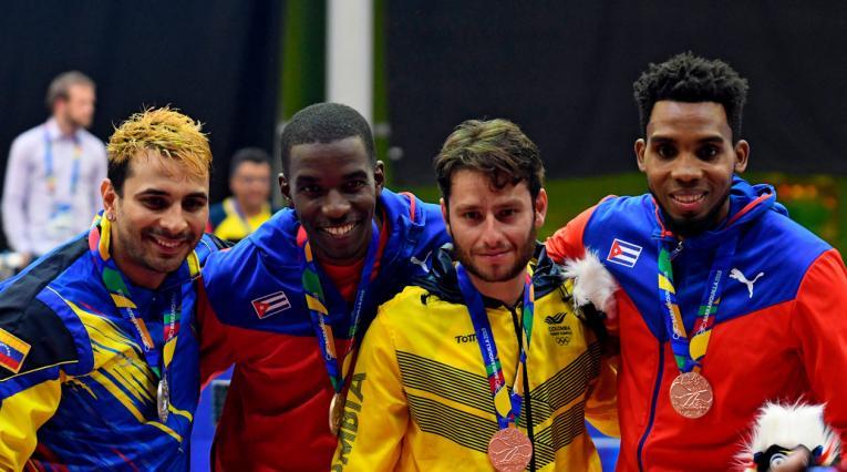 Cuba ahora es segunda en la medalleria de los Juegos Centroamericanos y del Caribe Barranquilla 2018 por delante de Colombia