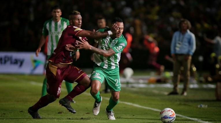 Atlético Nacional y Deportes Tolima disputaron la última final de la Liga Águila