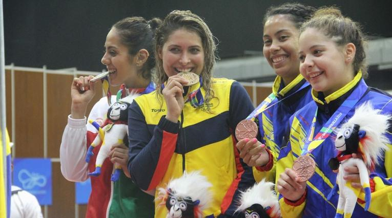 Saskia Van Erven se subió a lo más alto del podio en los Centroamericanos 2018