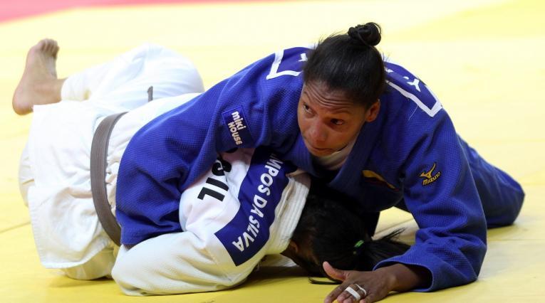 Yuri Alvear, judoca colombiana