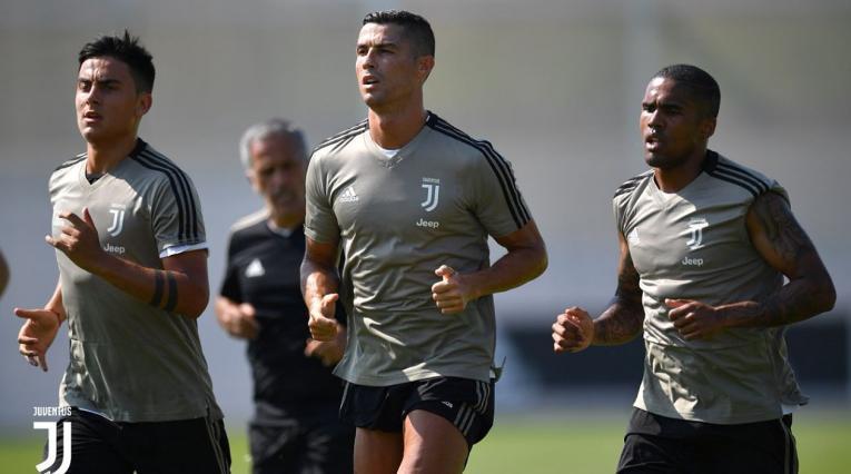 Cristiano ya se entrena con la Juventus