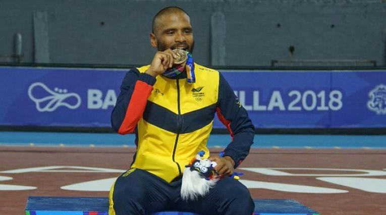 Alex Cujavante consiguió su segundo oro en las justas en los 10.000 metros puntos