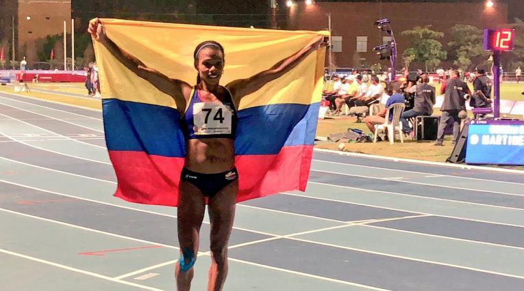 Muriel Coneo y Mauricio González ganan oros en los 5000 metros