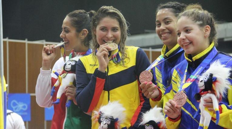 Saskia Van Erven se adjudicó el oro en los Centroamericanos 2018
