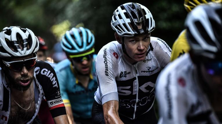 Christopher Froome, ciclista del Team Sky