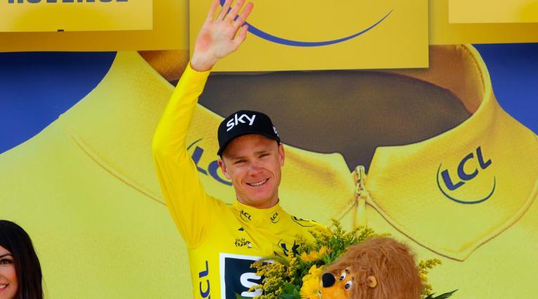 Chris Froome, múltiple campeón del Tour de Francia, podría correr en el Tour Colombia 2.1