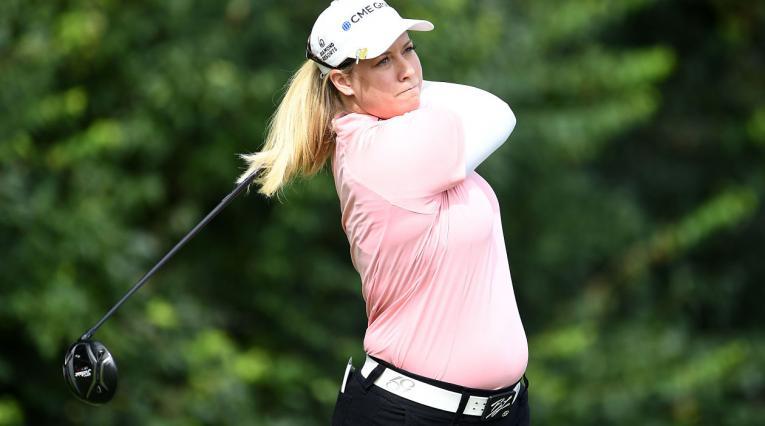 Brittany Lincicome, sexta mujer que disputa un torneo de la PGA