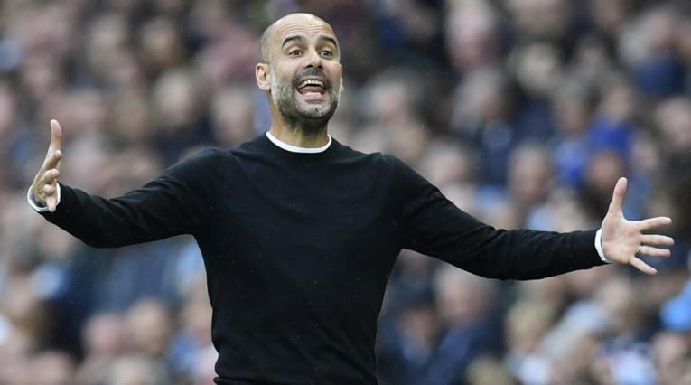Guardiola sonó en un momento como reemplazo de Jorge Sampaoli