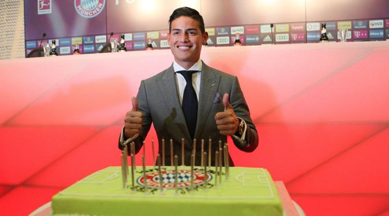 James Rodríguez cumpleaños