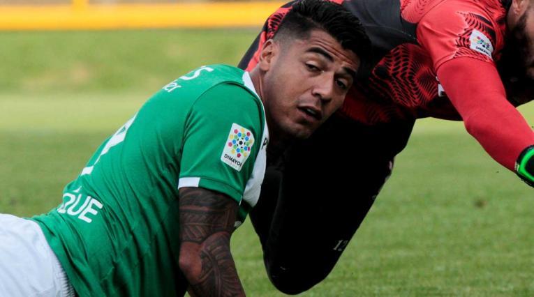 Jéfferson Duque, jugador que en 2017 militó en el Deportivo Cali