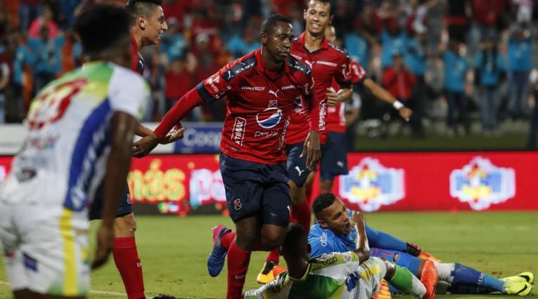 Juan Fernando Caicedo, jugador del Medellín