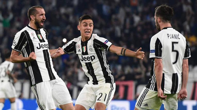 Juventus Dybala Chiellini Pjanic