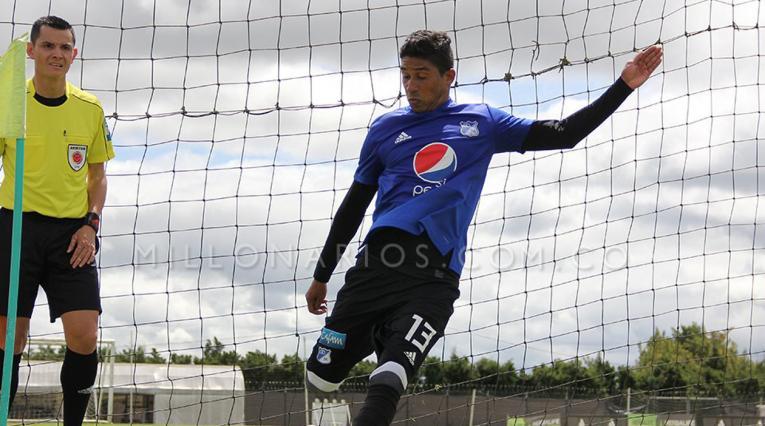 Marrugo habló de las posibilidades de Millonarios en la Sudamericana