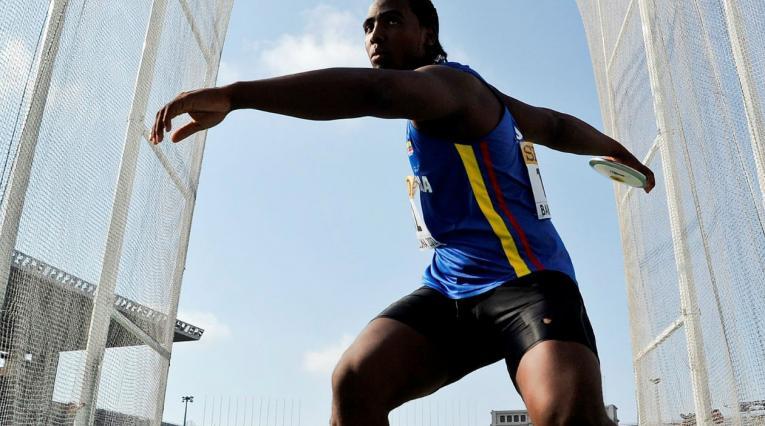 Mauricio Ortega realizó un lanzamiento de 66,30 metros