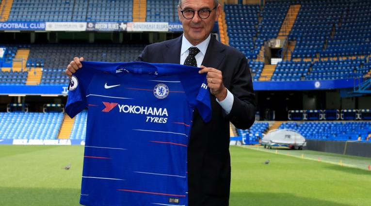 Maurizio Sarri nuevo DT de Chelsea