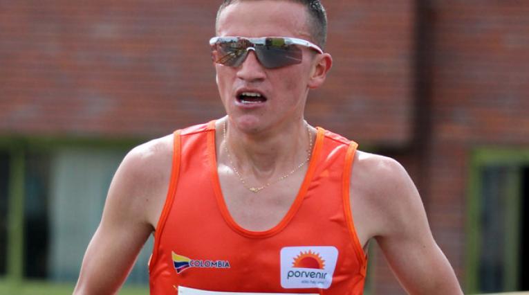 Miguel Amador, atleta colombiano