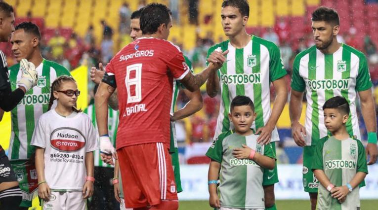 Atlético Nacional y América de Cali disputaron su segundo amistoso en Estados Unidos