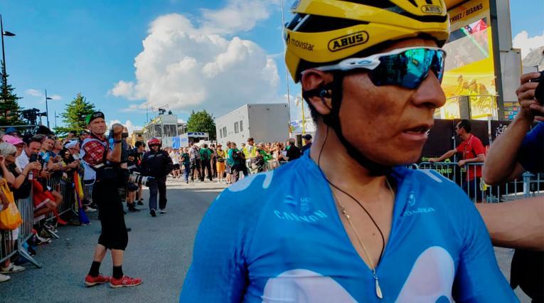 Nairo Quintana, ciclista colombiano.