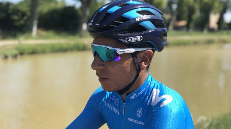 Nairo Quintana Tour 2018 casco