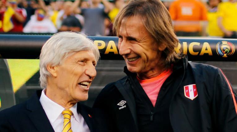 José Pékerman y Ricardo Gareca