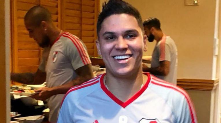Juan Fernando Quintero está realizando la pretemporada con River Plate