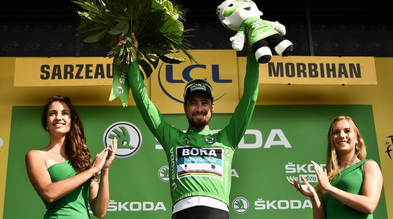 Peter Sagan, ciclista eslovaco al servicio de Bora