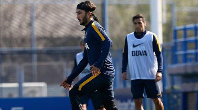 Sebastián Pérez, jugador colombiano que milita en Boca Juniors