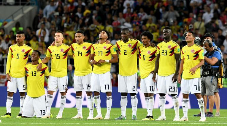 La Selección Colombia se dispone a cobrar la tanda de penales ante Inglaterra