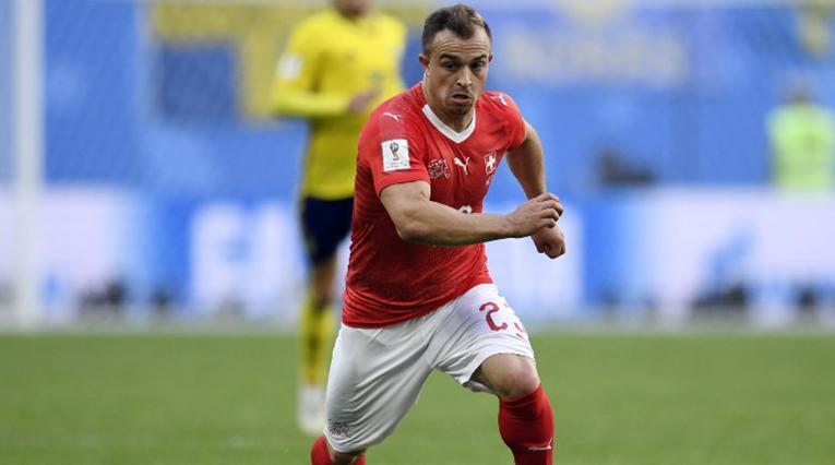 Liverpool oficializó el fichaje de Xherdan Shaqiri para la siguiente temporada