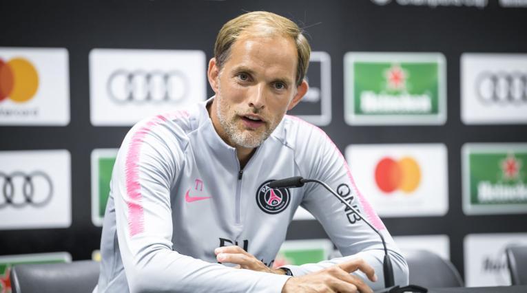 Thomas Tuchel, director técnico del PSG
