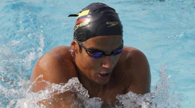 Jorge Murillo ganó medalla de oro en natación