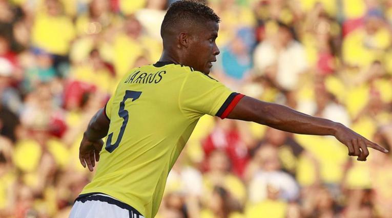 Wilmar Barrios, mediocampista de la Selección Colombia