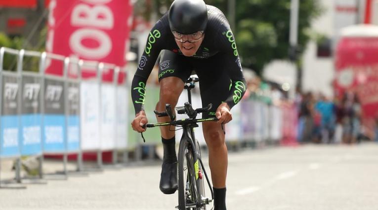 Rodrigo Contreras, ciclista del EPM-Scott