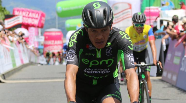 Fredy Montaña, ciclista del EPM Scott
