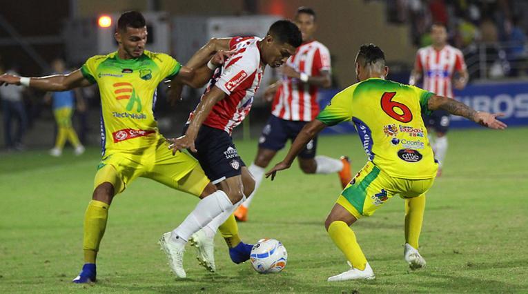 Junior, con su victoria ante Huila, es segundo en la tabla de posiciones de la Liga Águila