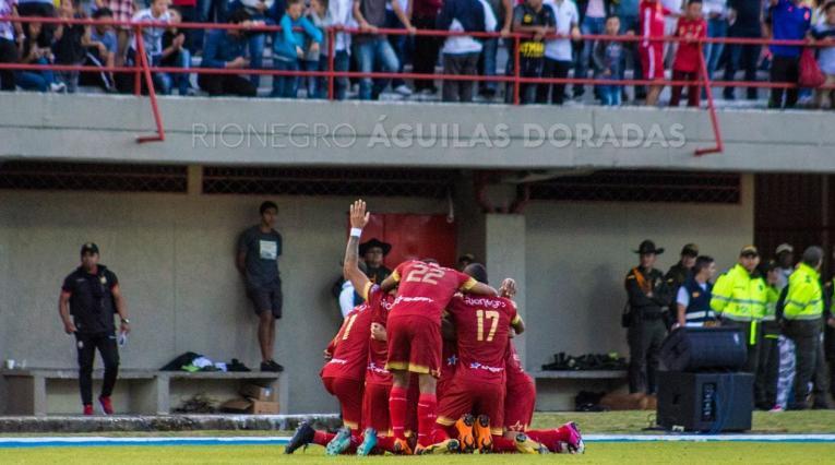 Rionegro derrotó a Deportivo Cali en la fecha 6 de la Liga Águila II-2018