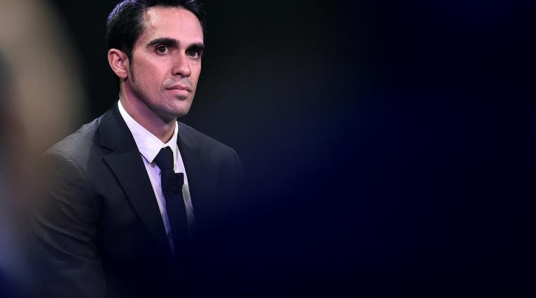 Alberto Contador, ciclista español retirado