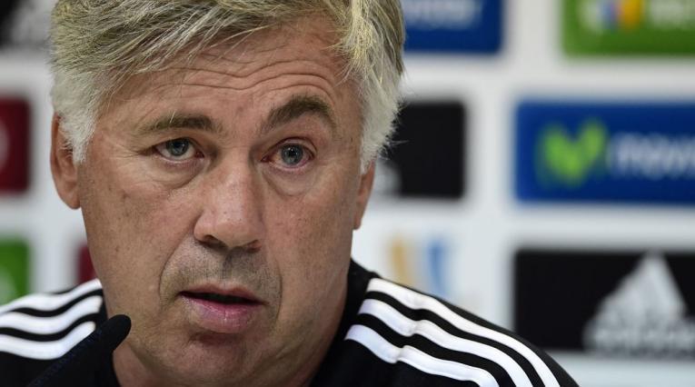 Carlo Ancelotti, director técnico del Napoli