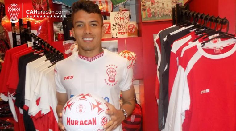 Andrés Felipe Roa es nuevo jugador de Huracán de Argentina