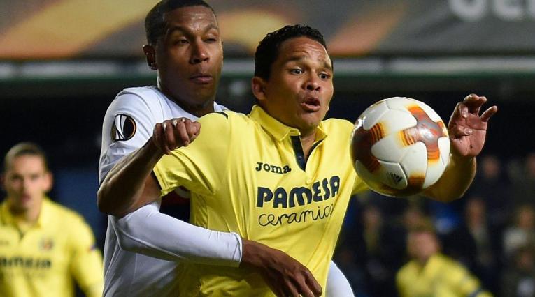Carlos Bacca, jugador del Villarreal