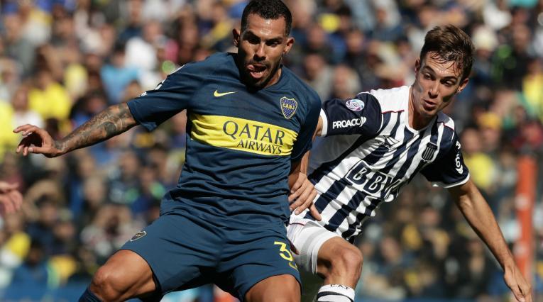 Carlos Tévez, jugador de Boca Juniors