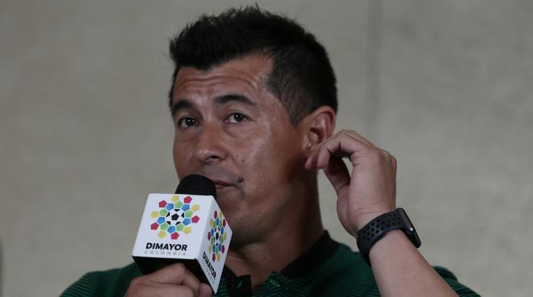 Jorge Almirón fue técnico de Nacional durante el 2018, luego salió tras quedar eliminado de la Libertadores con el club verde