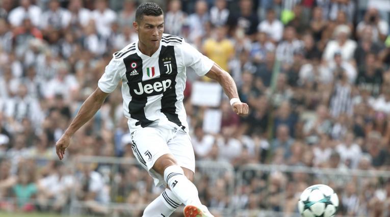 Cristiano Ronaldo debutará en la primera fecha de la Serie A
