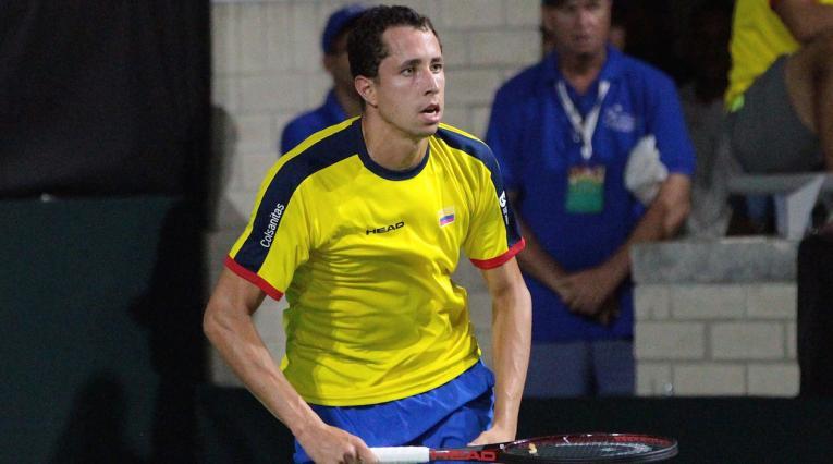 Daniel Galán, tenista colombiano