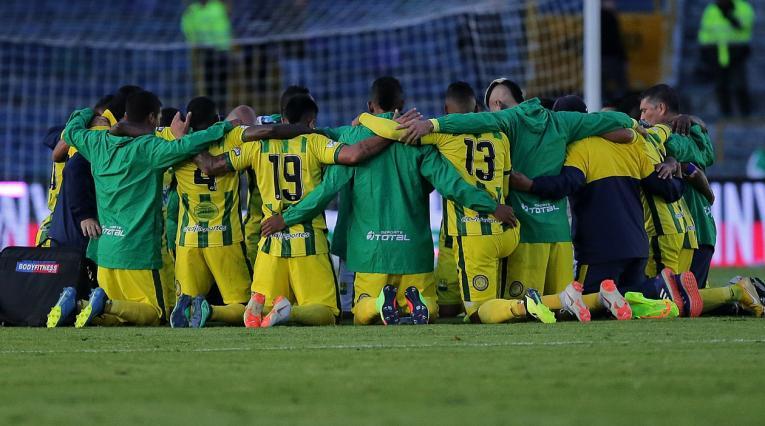 Atlético Bucaramanga, equipo reunido