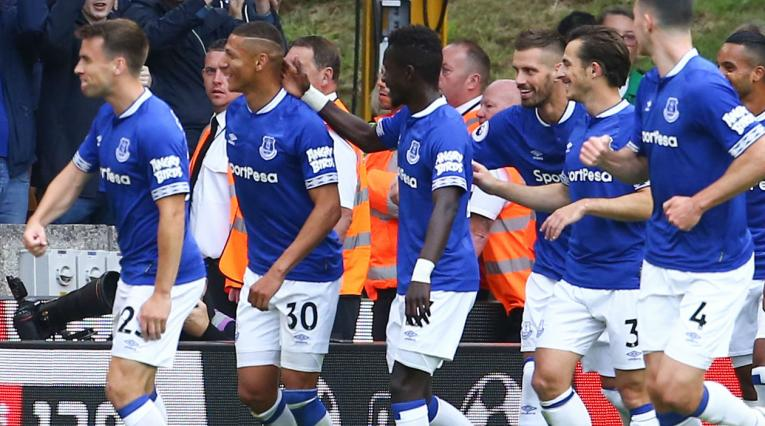 Everton de Inglaterra en la Premier League