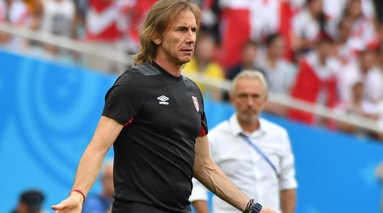 Ricardo Gareca, director técnico argentino