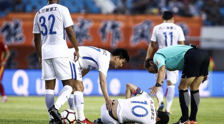 Giovanni Moreno lesión agosto 2018