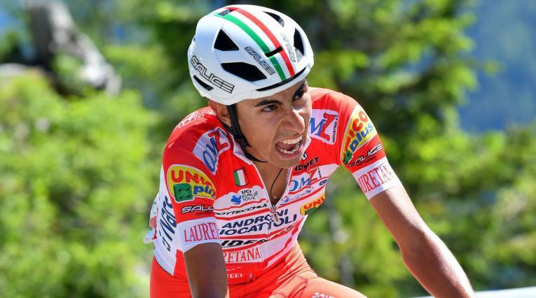 Iván Ramiro Sossa, campeón de la Vuelta Burgos en España